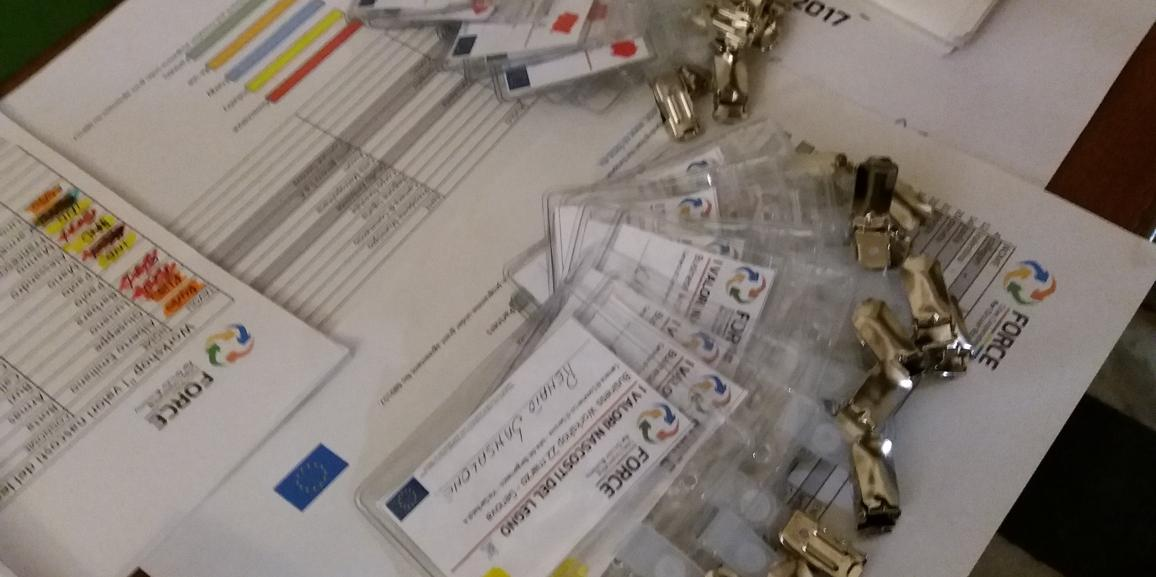 """<br/> 22 marzo 2017 Workshop """"I valori nascosti del Legno"""" progetto Force a Genova"""